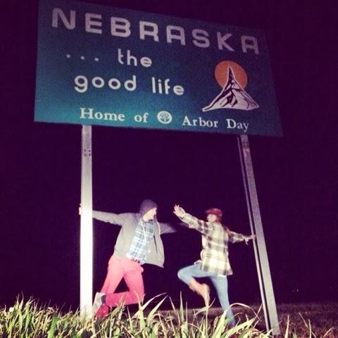Stateline, Nebraska, The Good Life, Night, Headlights, Plaid, Goldrush