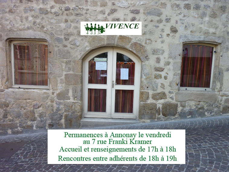 Association VIVENCE Ardèche