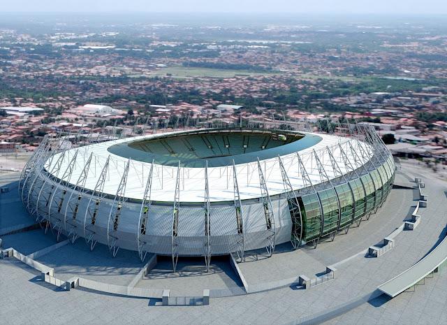 Castelão vai receber jogos da Copa das Confederações em 2013 e Copa de 2014