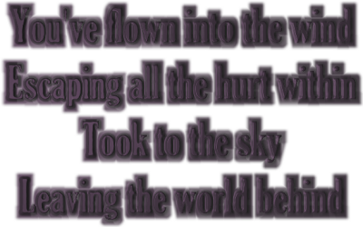 The Wind - Mariah Carey Song Lyric Quote in Text Image