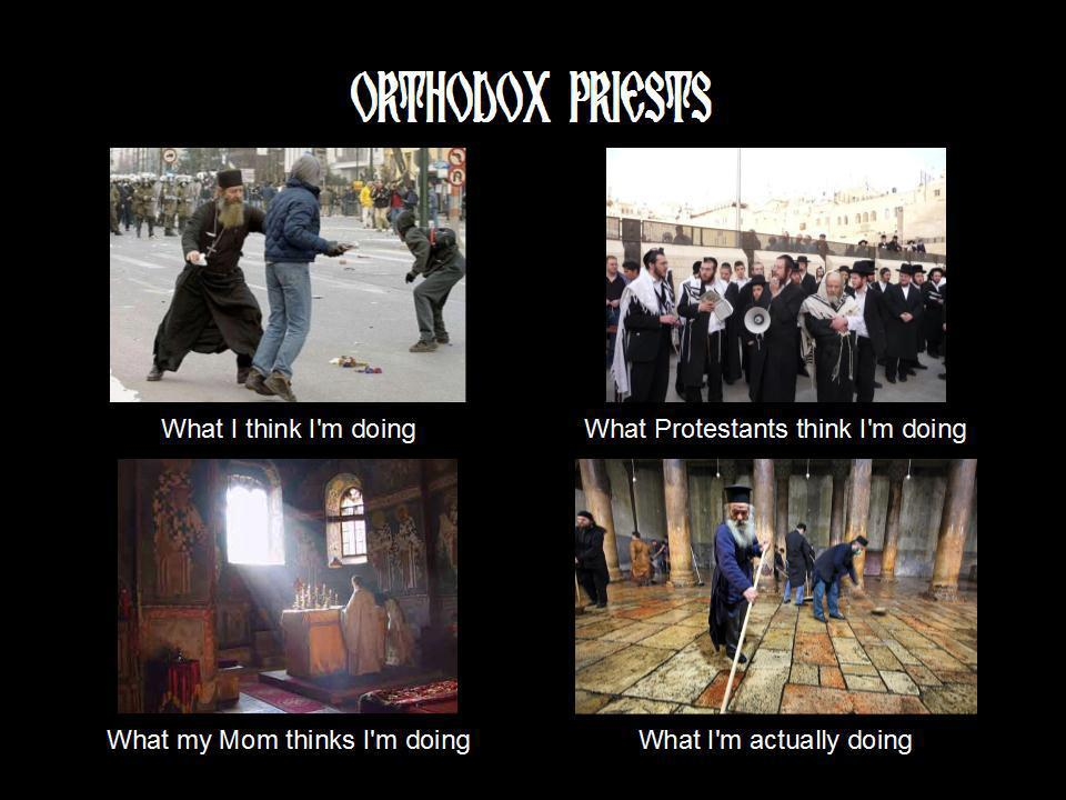 who_are_priests byzantine, texas a popular meme in an orthodox context