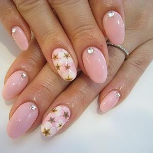 GLOW SALON MONTREAL: Nail Designs: Cute Pink (#