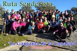 "RUTA SENDERISTA "" LA GARGANTA DE LA CANALEJA"""