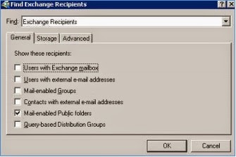 how to find server name in outlook 2003