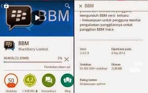 BBM Update pada Versi 2.4.0.8