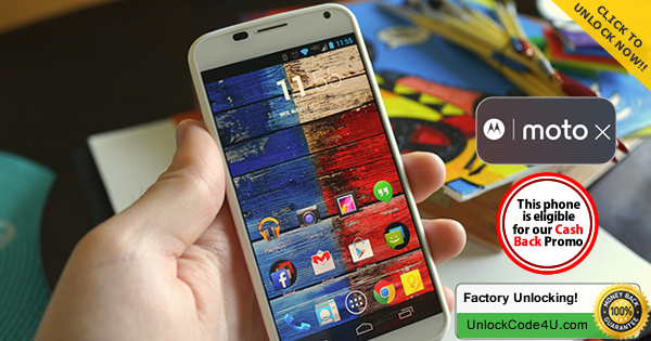 Factory Unlock Code for Moto X