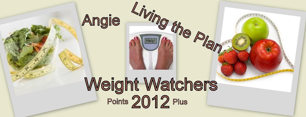 Angie Lives the Plan Weight Watcher 2012