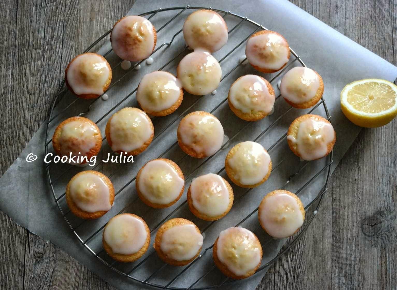 Cooking Julia Petits Moelleux Citron Courgette