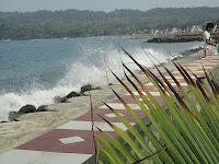 Lokasi Pantai Timur Pangandaran