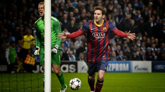 في ليلة الضيوف برشلونة يقهر السيتي وباريس سان جيرمان يذل ليفركوزن