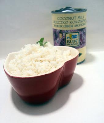 Kokosowy ryż dodatek do obiadu