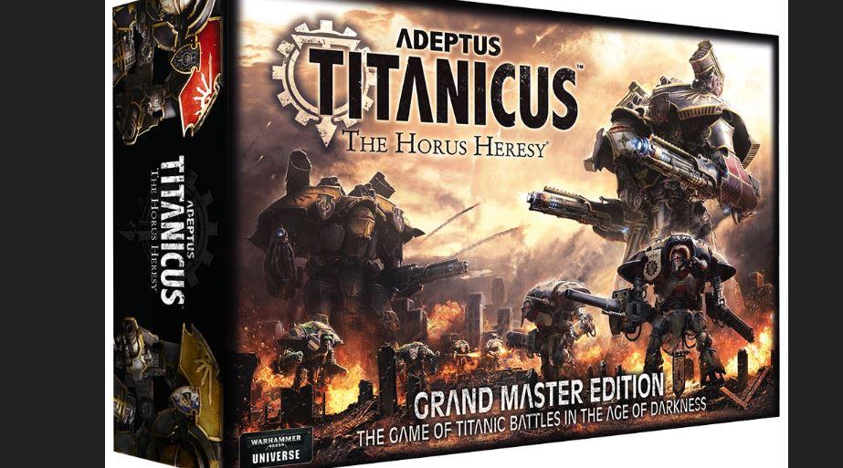 Adeptus Titanicus Pics. Grandmaster Edition Box Set..