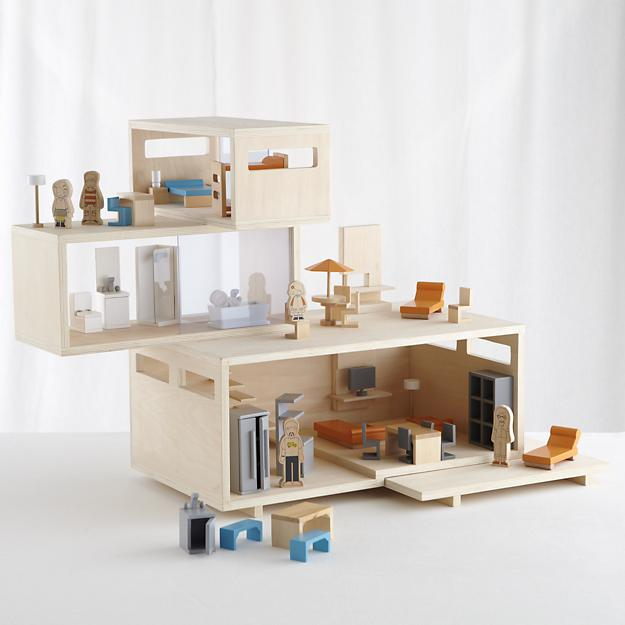 Nicolebvintage Land Of Nod Modern Dollhouse