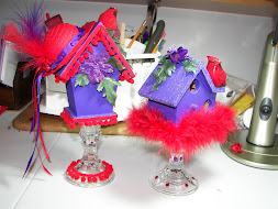 Crafty Red Hat Birdhouses