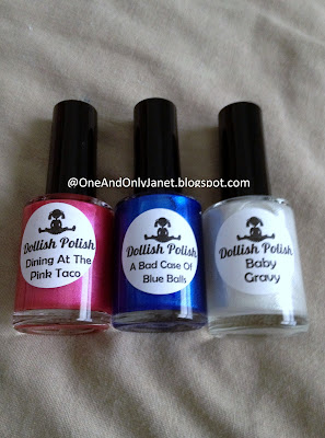 These Are My Very First Dollish Polishes Now Look At This Cute Packaging