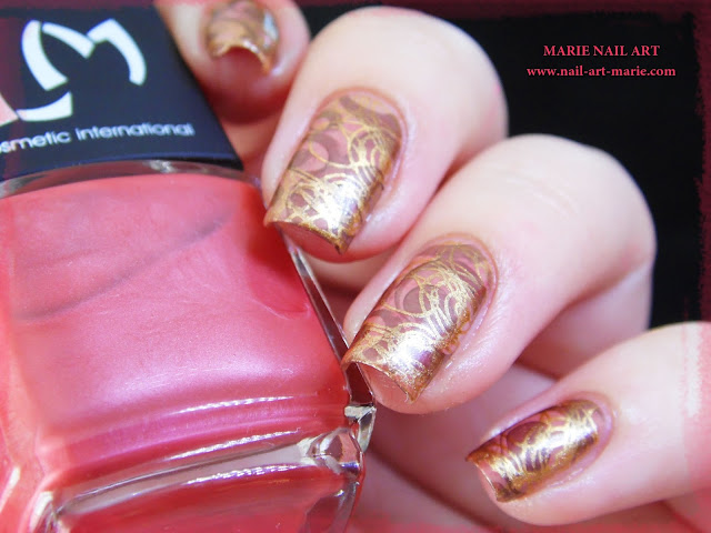 Nail Art Double Stamping Automnale3
