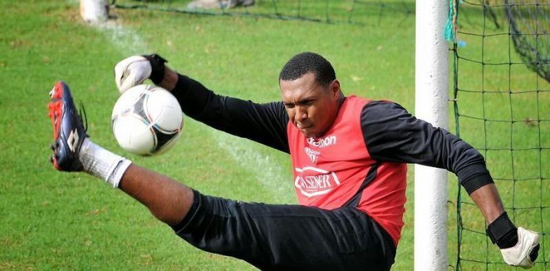 goalkeeper fakes fainting to avoid red card footy fair