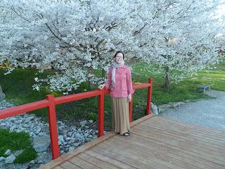 We enjoyed an evening stroll in the Japanese Friendship Garden, Yuko-En on the Elhorn, in Georgetown.