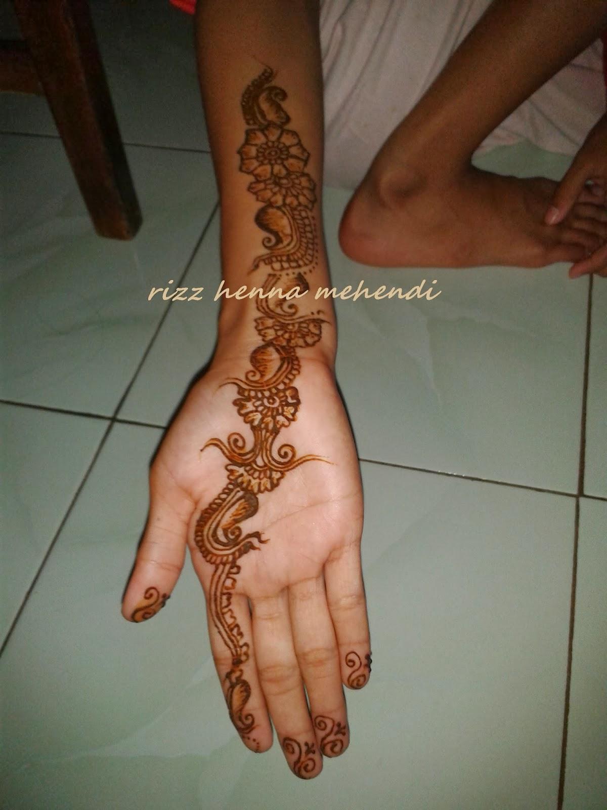 Rizz Henna Mehendi Jakarta Contoh Fun Henna Cocok Untuk