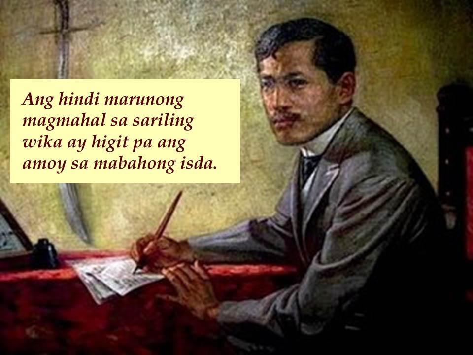 Tagalog essays