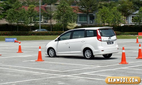proton exora emergency brake