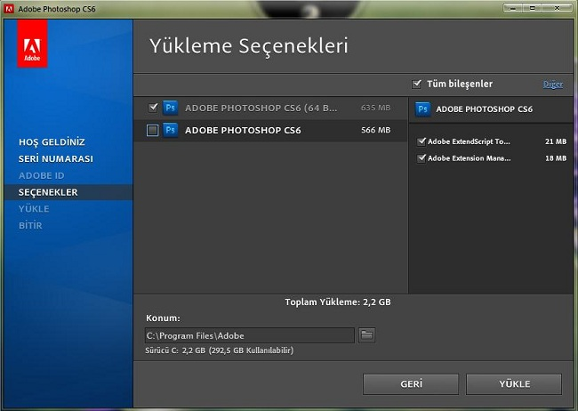 Adobe Photoshop Cs6 Türkçe Full
