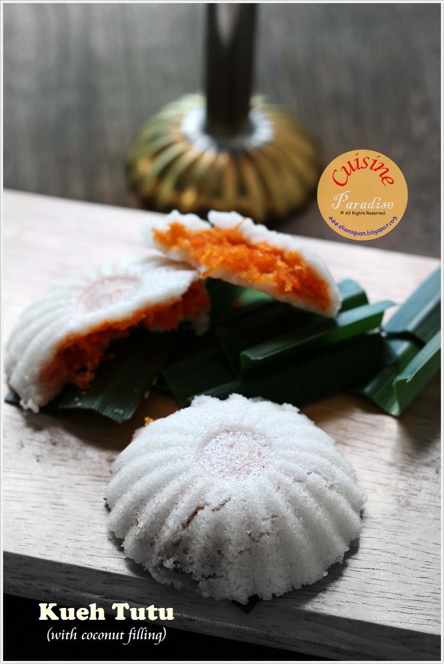 Cuisine paradise singapore food blog recipes reviews and travel kueh tutu aka forumfinder Image collections