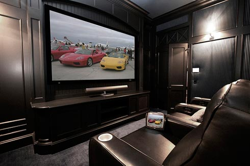 home theater room  furniture