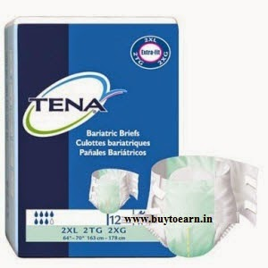 Free TENA Slip Plus & Slip with ConfioAir Adult Diapers Sample