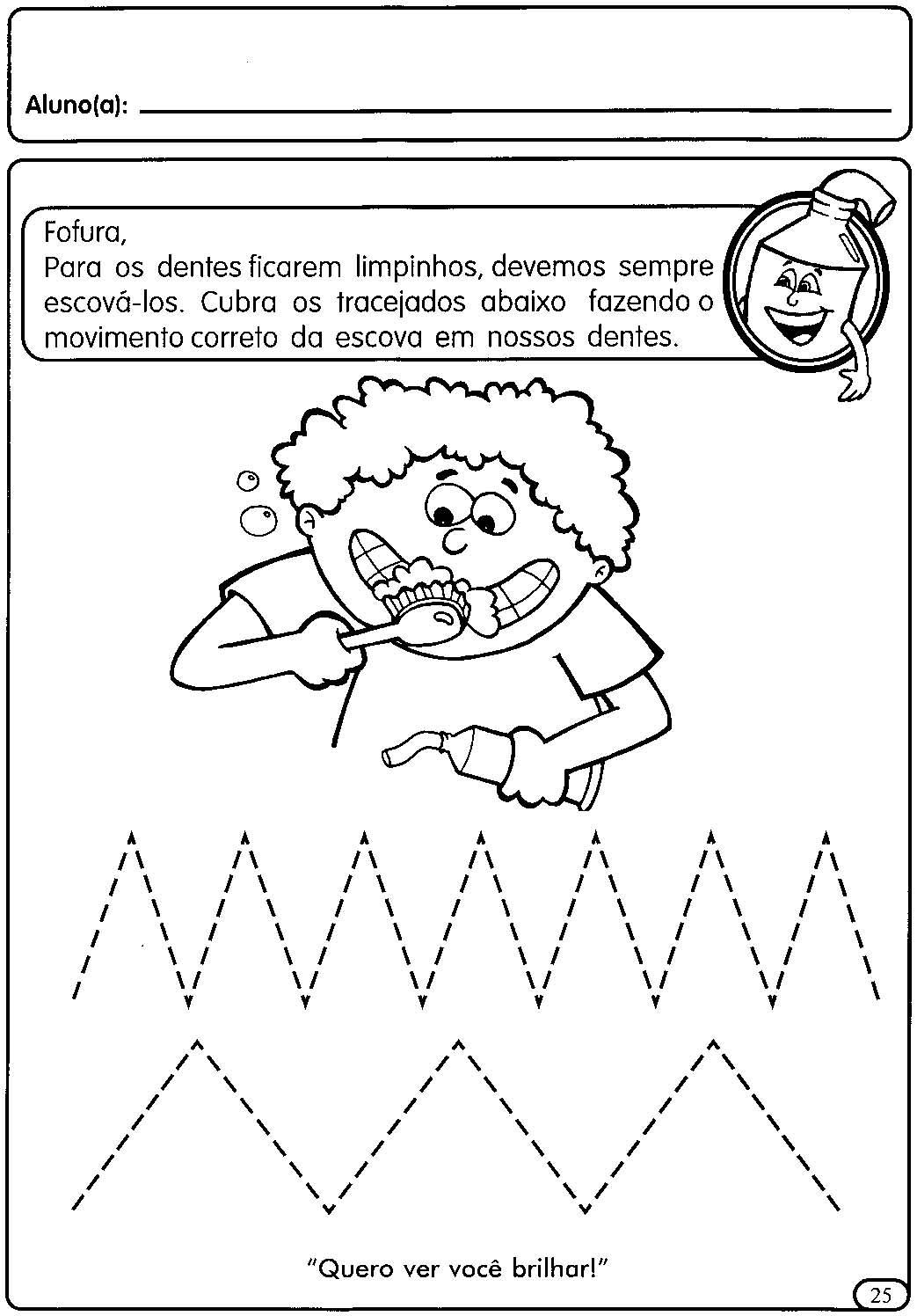 Muitas vezes ATIVIDADES COM TRACEJADO PARA MATERNAL | Cantinho do Educador Infantil PF03