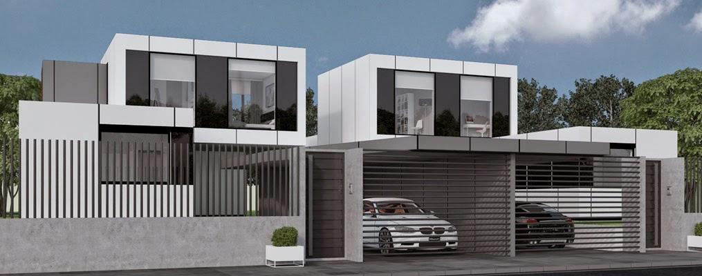 Viviendas modulares pareadas una opci n para ahorrar gastos resan modular - Planos de chalets modernos ...