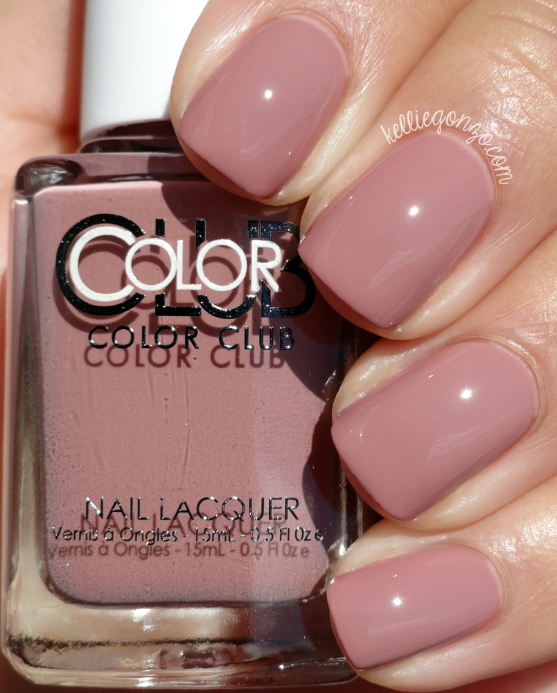 Color Club Get a Mauve On It Shift Into Neutral Collection