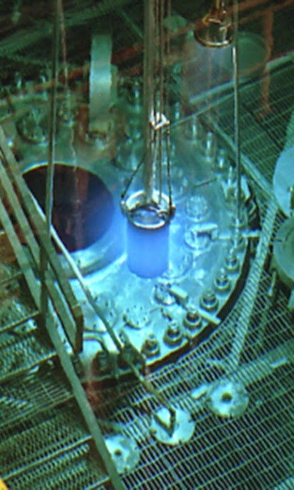 reactor pool at ORNL's High Flux Isotope Reactor
