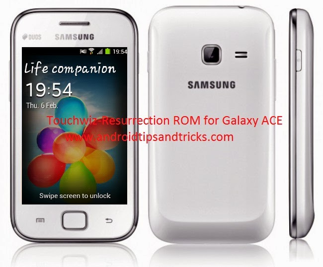 ROM for galaxy ACE