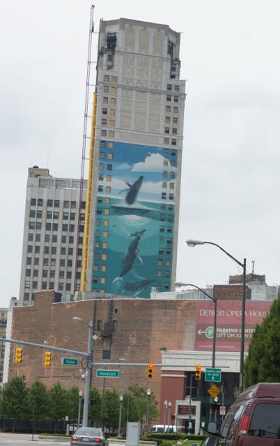 Michigan 1001 Daily Photo Detroit 39 S Whaling Wall