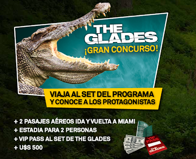 premio viaje a miami the glades concurso A&E Mexico Latinoamerica 2011