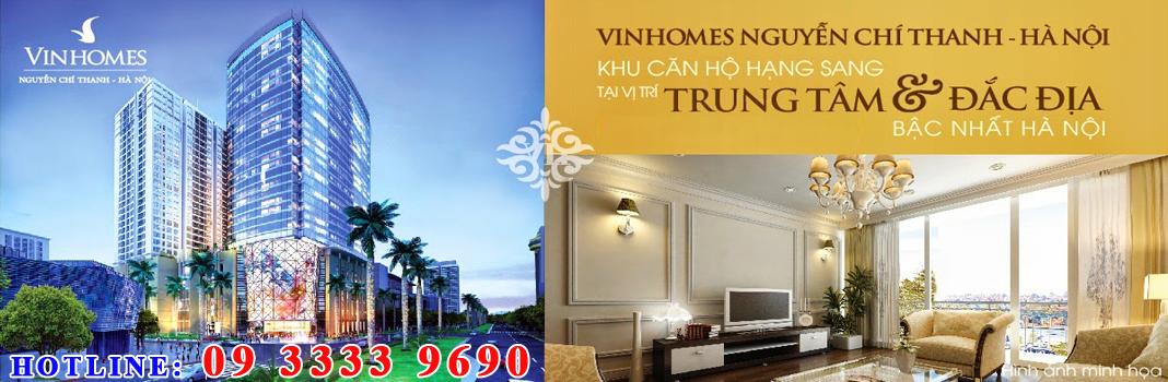 Bán Chung Cư Vinhomes 54A,56 Nguyễn Chí Thanh
