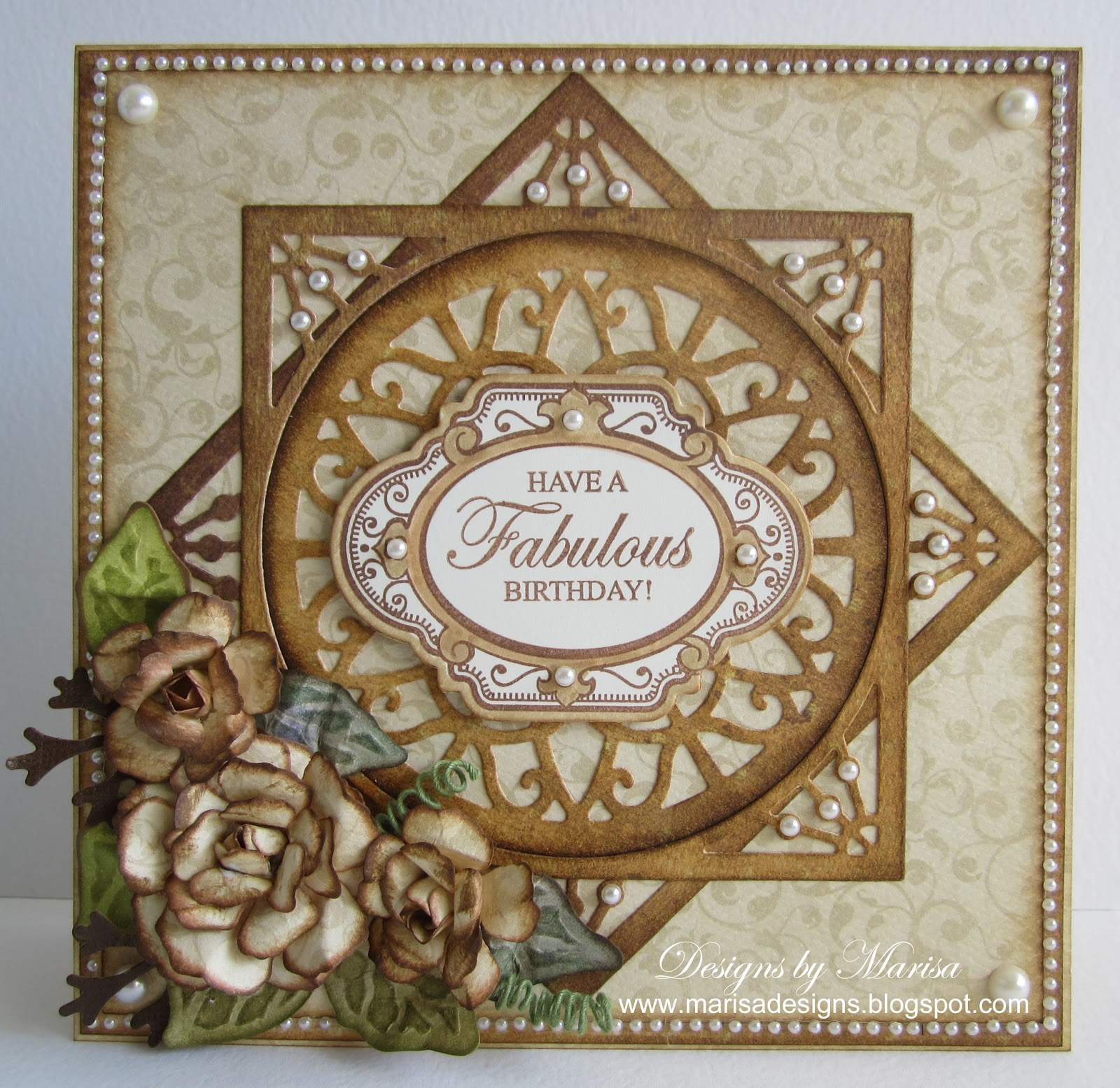 Designs by Marisa JustRite Papercraft August Release Have a – Papercraft Birthday Card