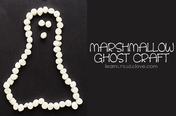 marshmallow ghost craft