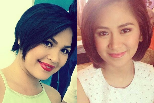 Sarah Geronimo And Judy Ann Santos Summer Hairstyle Ihot Or Not