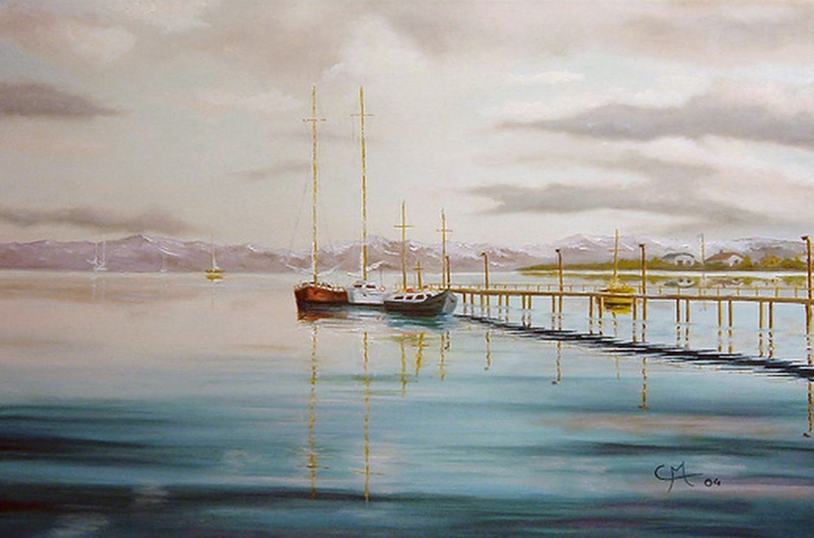 Pintura moderna y fotograf a art stica paisajes marinas for Cuadros de marinas