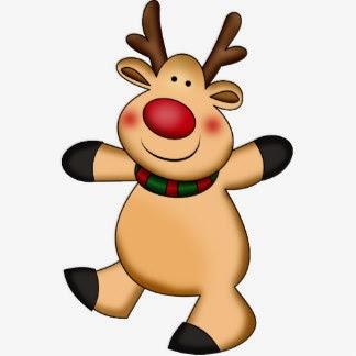 Jugando en Navidad Buscando los renos de Papa Noel  Mamnen
