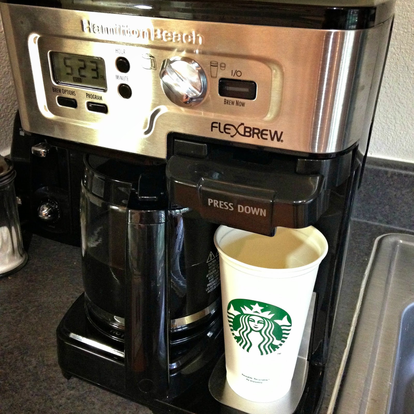 Family Dollar K Cup Coffee Maker : theFoodette & Family: Hamilton Beach FlexBrew - Giveaway!