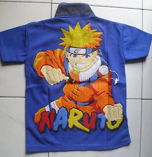 Kaos Krah Naruto belakang