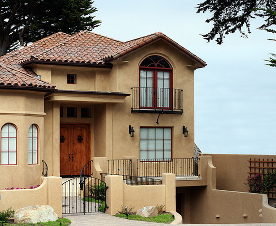 Stucco House Exterior Design