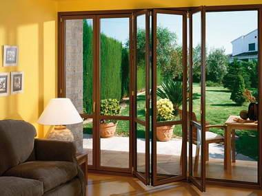 Fotos y dise os de puertas planos casa de madera Puertas metalicas usadas