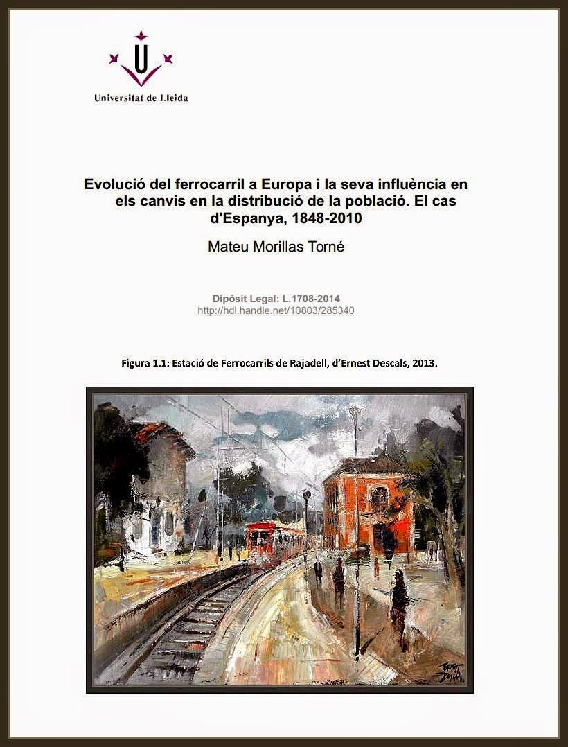 TESIS DOCTORAL-UNIVERSIDAD-FERROCARRIL-EUROPA-ESPAÑA-MATEU-MORILLAS-PINTURA-PINTOR-ERNEST DESCALS