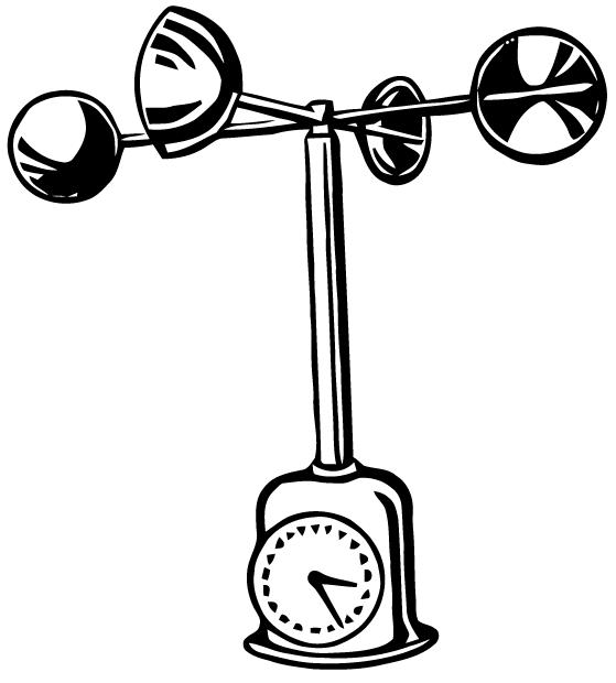 anemometer drawing - photo #1
