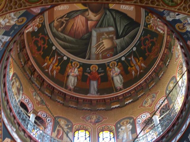 Aziz Minas Kilisesi, ana kubbe; Heraklion