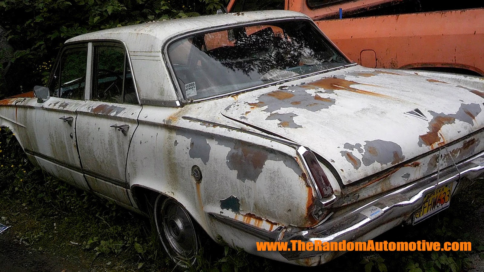 plymouth valiant abandoned alaska juneau tonguss dylan benson rotting in style rusty car